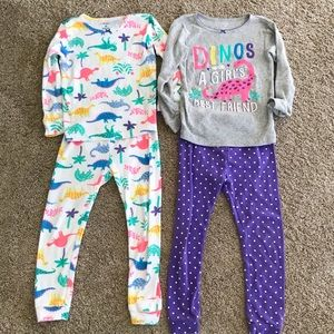 Carter's Pajamas Bundle - 5T